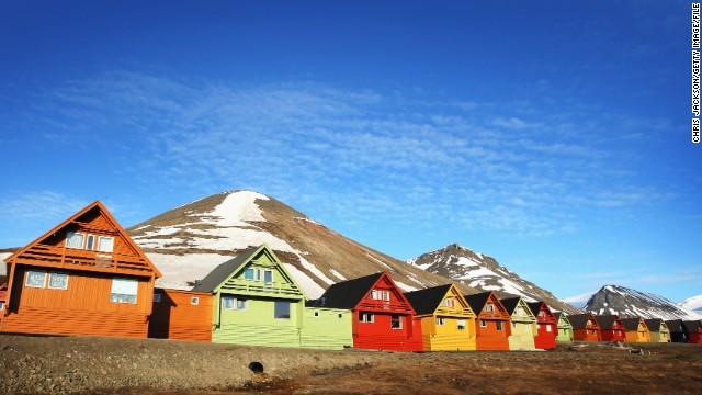 مجمع الجزایر لانگیربین ، نروژ از جاهای دیدنی عجیب دنیا