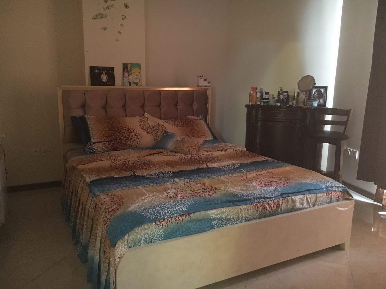 نمای اتاق خواب سوئیت قیطریه