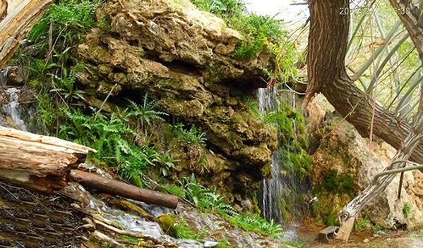 نمایی از آبشار قطره باران - مسافرت کم هزینه در تفرش