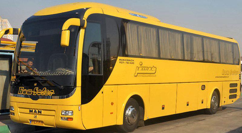 اتوبوس، وسیله ای برای سفر کم هزینه در ایران