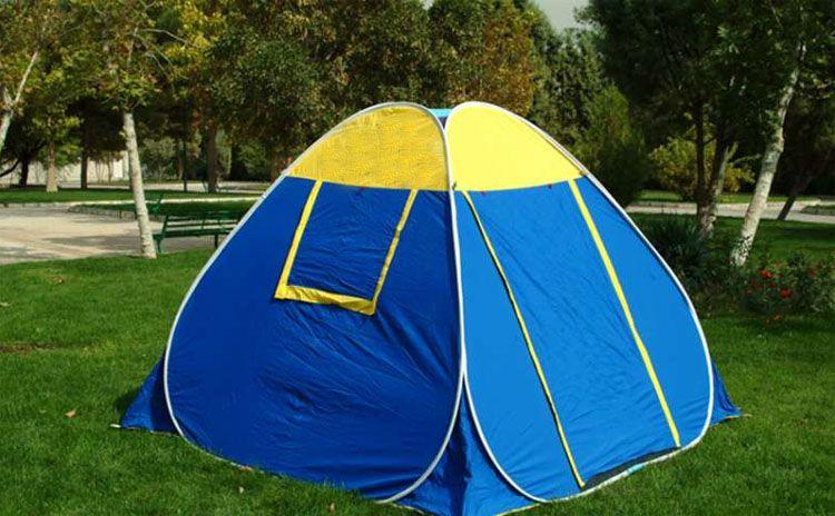 چادر مسافرتی را برای کسانی که میپرسند چگونه ارزان سفر کنیم توصیه می کنیم