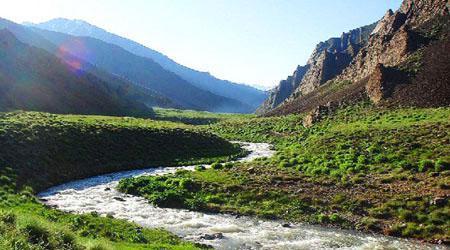 طبیعت روستای وارنگه رود