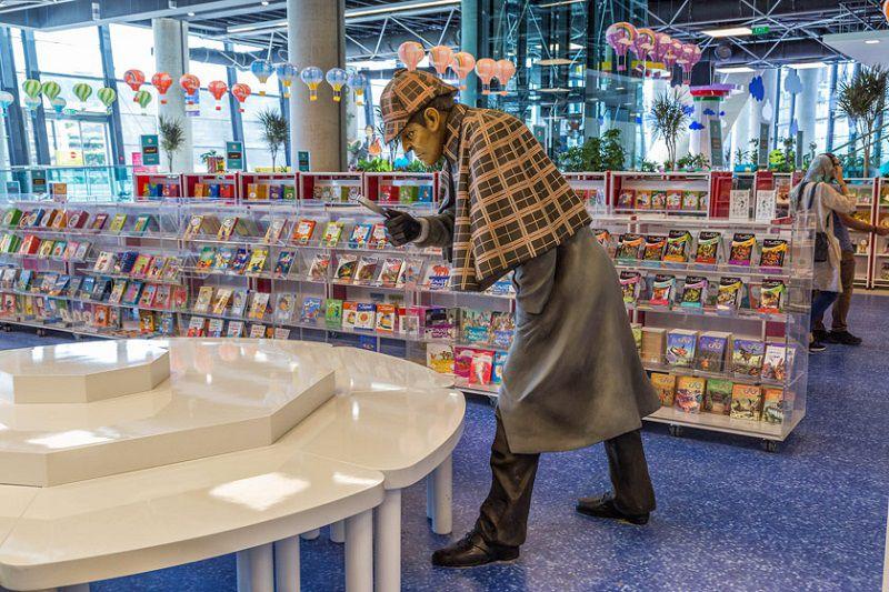باغ کتاب تهران یکی از مکانهای تفریحی برای کودکان در تهران