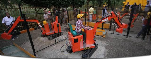 پارک بیلینو، از جمله مراکز تفریحی برای کودکان در تهران