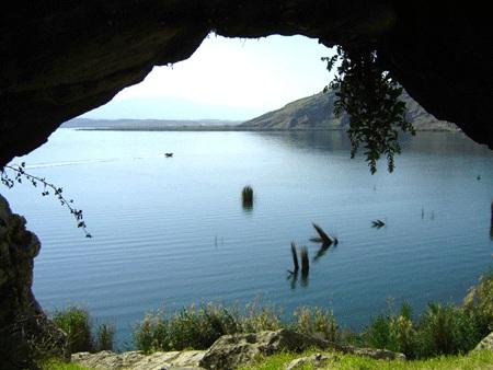 دریاچه پریشان استان فارس