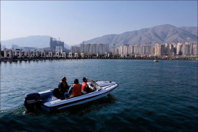 دریاچه چیتگر؛ از مکانهای تفریحی برای کودکان در تهران