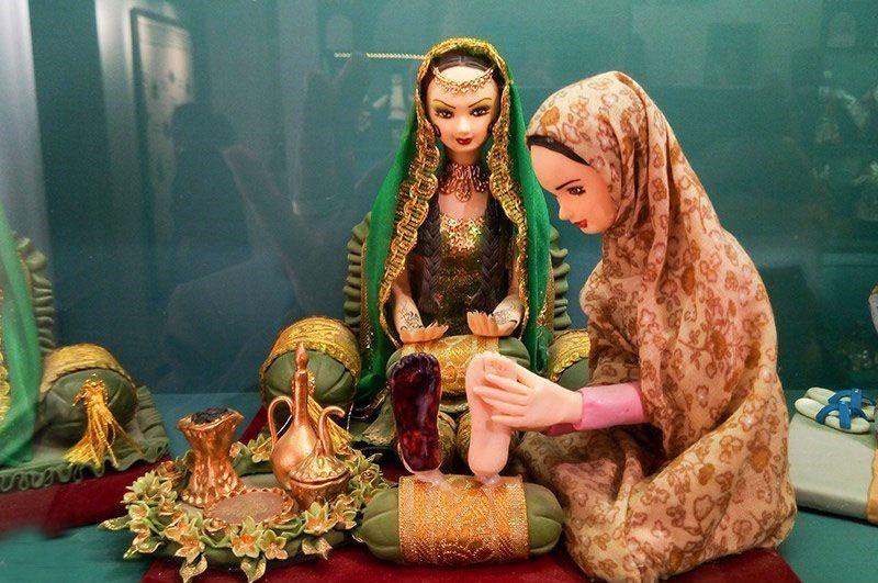 موزه عروسک های ملل یکی از مراکز تفریحی کودکان در تهران