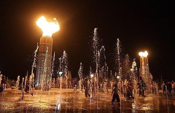پارک آب و آتش؛ یکی از جاهای دیدنی تهران