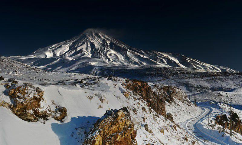 عکس قله دماوند
