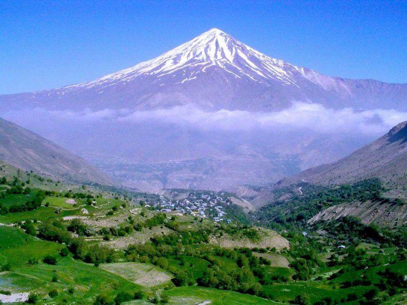 عکس قله ی دماوند
