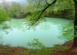 دریاچه فوق العاده زیبای «گل رامیان» + تصاویر