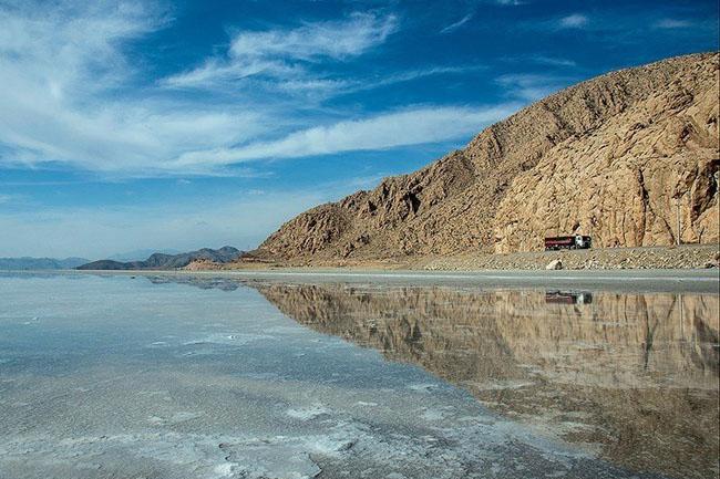 دریاچهی بختگان و دریاچهی طشک + تصاویر