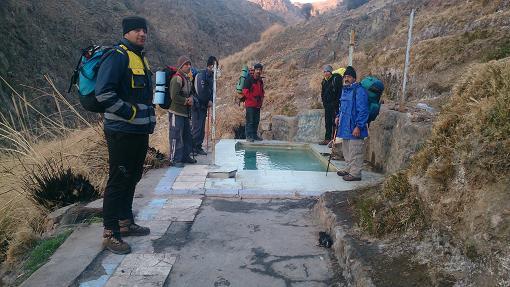 آب گرم خلیل آباد، دشت کویر، یخدان گلی
