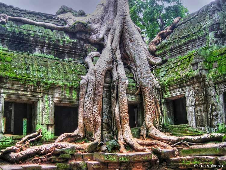 انگکور وات از مشهورترین بناهای تاریخی جهان