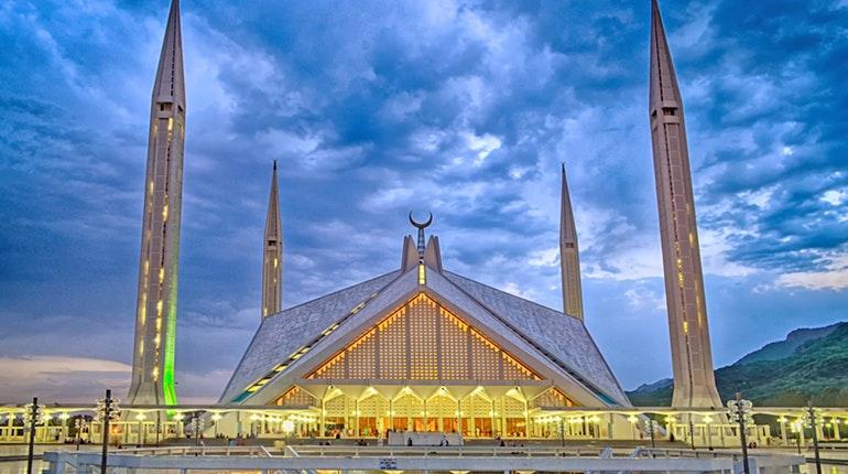 مسجد ملک فیصل از زيباترين مساجد جهان