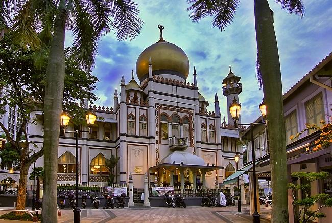 مسجد سلطان از زیباترین مسجد های جهان