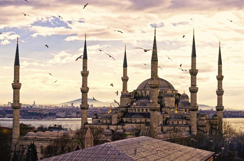 مسجد «ایاصوفیه» در استانبول ترکیه ازجمله باشکوه ترین مساجد دنیا