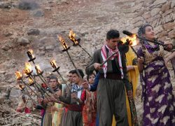 مراسم نوروز در کردستان,آداب و رسوم مردم کرد جشن نوروز+عکس