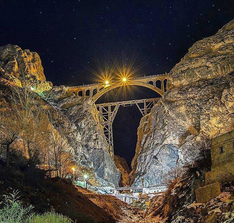 پل ورسک در مازندران