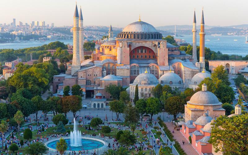 موزه ایاصوفیه یکی از نقاط دیدنی استانبول ترکیه
