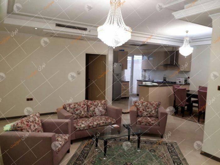 اجاره آپارتمان مبله در خیابان دیباجی تهران