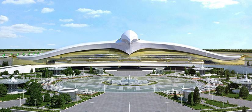 تصاویر فرودگاه ترکمنستان