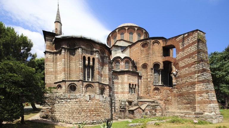 کلیسای چورا یکی از جاهاي ديدني استانبول تركيه