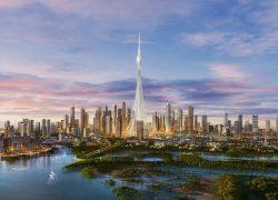 معرفی مرتفعترین برج آیندهی دنیا: خور دبی + تصاویر