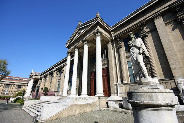 موزه باستان شناسی یکی از جاهای دیدنی کشور ترکیه استانبول