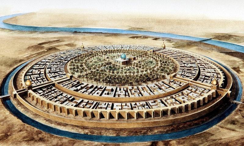 آشنایی با ساختار دایرهای بغداد به صورت کامل