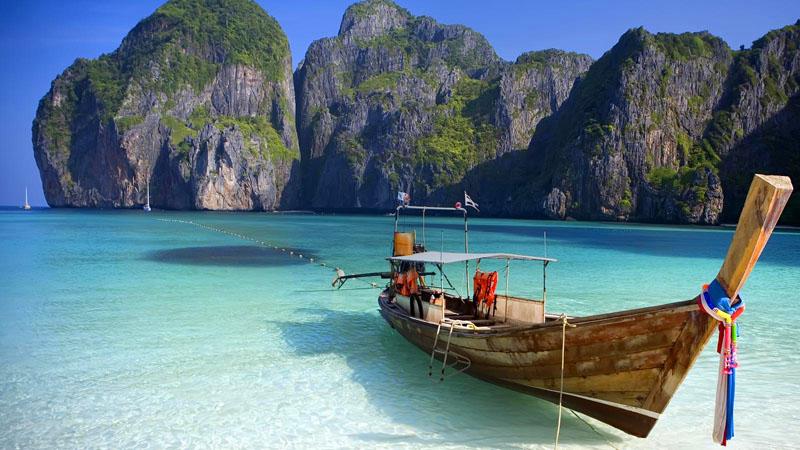 جزیره کو فی فی دان - تصاویر زیباترین دریاچه های جهان
