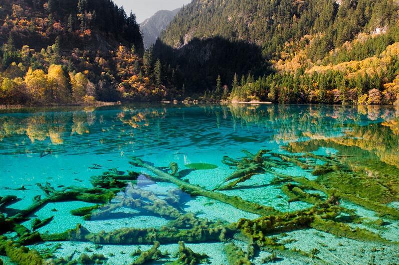 دریاچه پنج گل - عکس زیباترین دریاچه های جهان