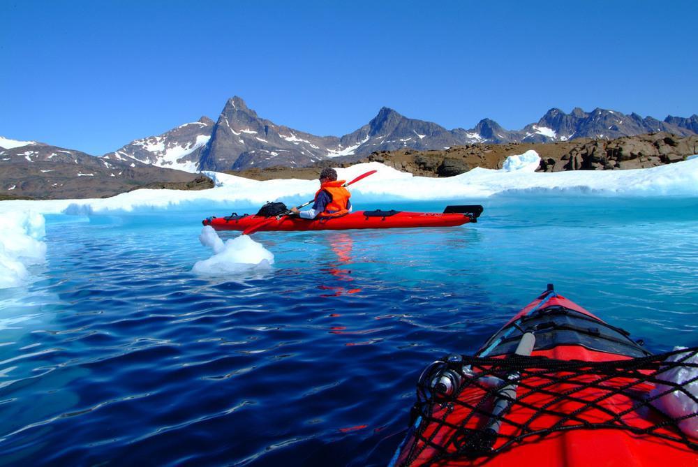 رودخانه آبی گرینلند
