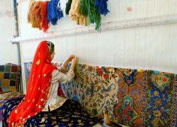اصالت قالیبافی ایرانی را بشناسید + تصاویر