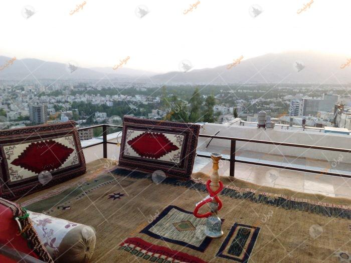 منزل مبله بام شیراز