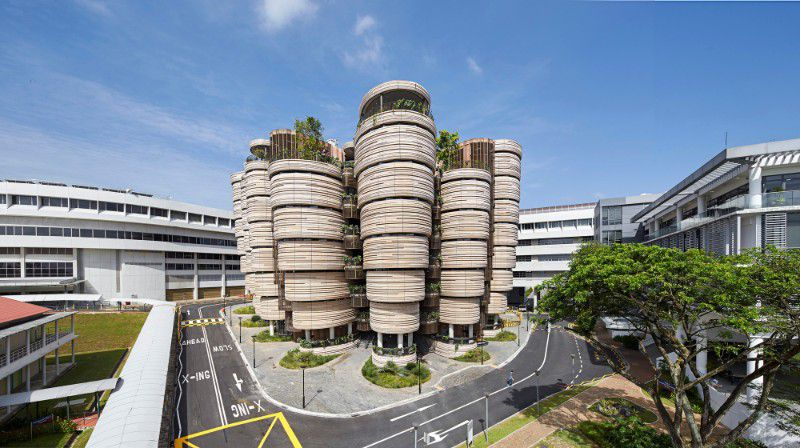 ساختمان تلسکوپی: یکی از زیباترین ساختمانهای آموزشی دنیا