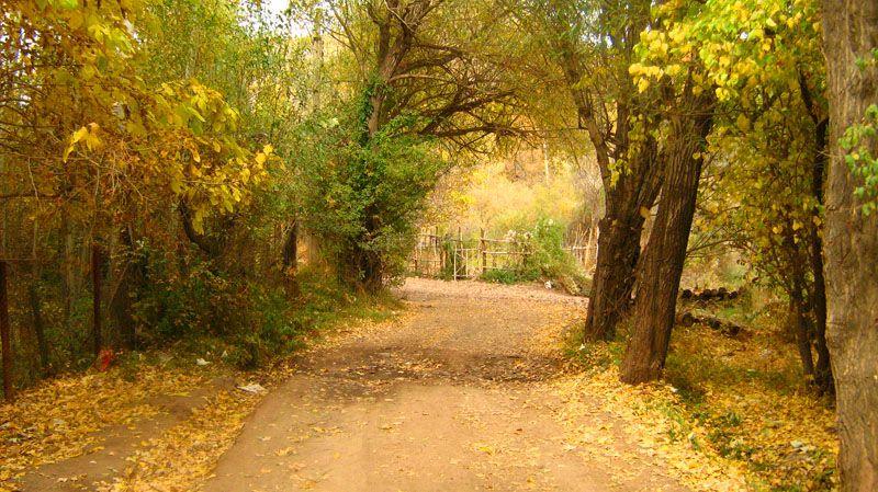 طالفان گردشگری ایران در پاییز