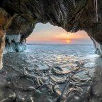 عکس غار یخی کوهرنگ