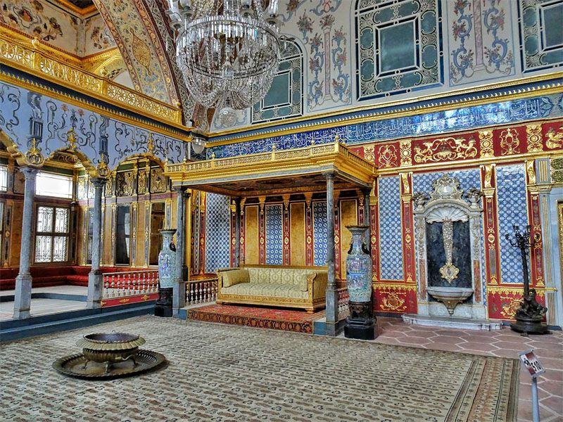 کاخ توپکاپی از جاهای دیدنی کشور ترکیه استانبول