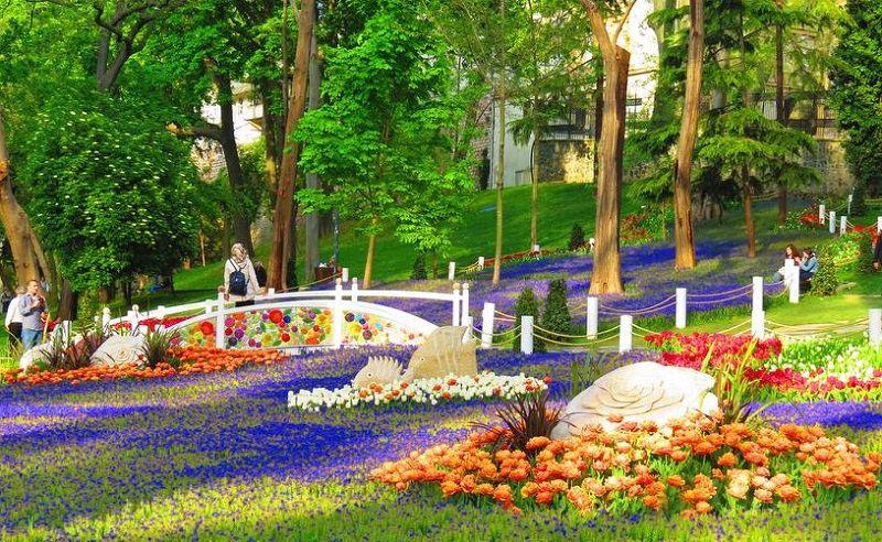 پارک گلخانه یکی از مناطق دیدنی استانبول ترکیه
