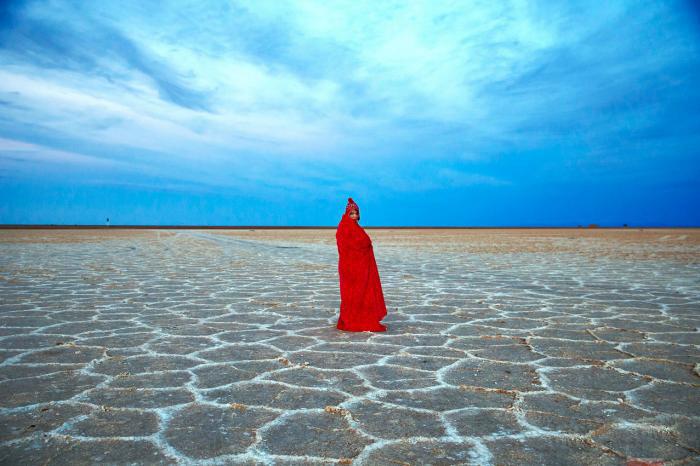 دریاچه نمک: بهترین مکان برای سفر در مهرماه در ایران
