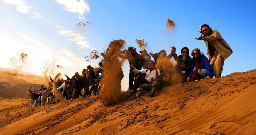 کویر مرنجات : پاییز مسافرت کجا بریم