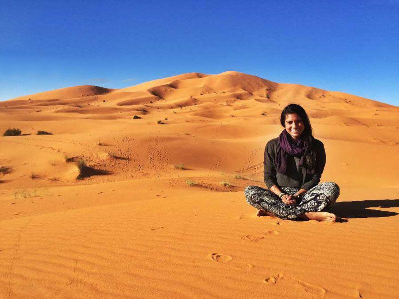 کویر مصر بهترین مکان مسافرت در پاییز