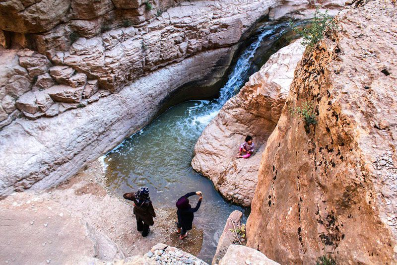 آبشار حمید یکی از جاذبه های گردشگری بجنورد