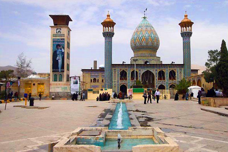 آستانه مقدس سید علاء الدین حسین یکی از مساجد تاریخی شیراز