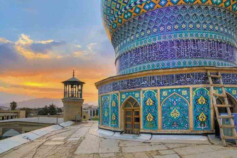 نام علی بن حمزه در میان اسامی مساجد شیراز و اماکن مذهبی شیراز می درخشد