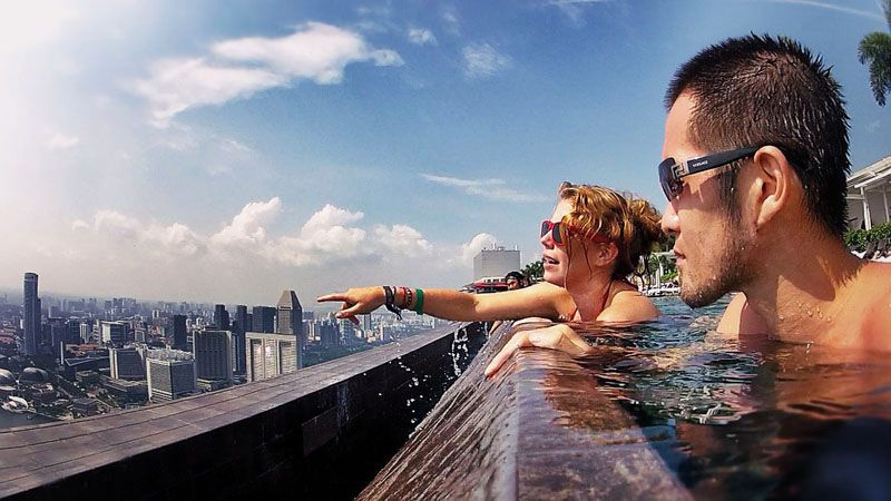 برج سه قلو سنگاپور