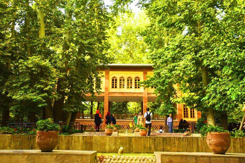 بوستان باغ ایرانی؛ از زیباترین دیدنی های تهران