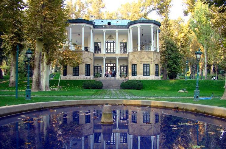 مجموعه سعدآباد؛ از جمله جاهای دیدنی تهران