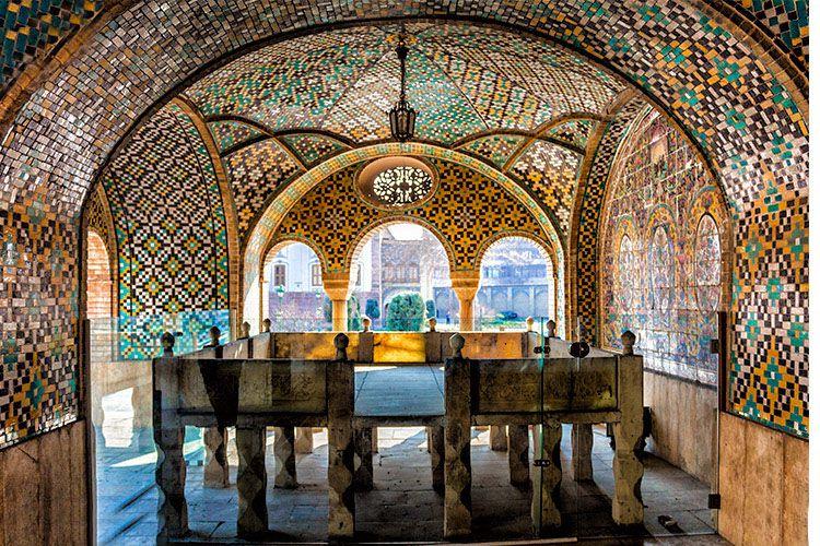 کاخ گلستان؛ از زیباترین جاهای دیدنی تهران